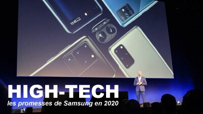 High-Tech, les promesses de Samsung en 2020