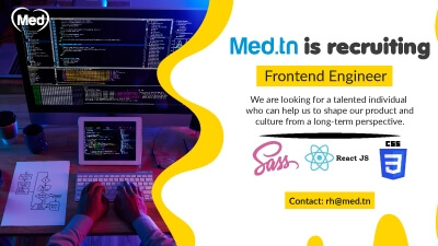 Med.tn is recruiting Frontend Engineer