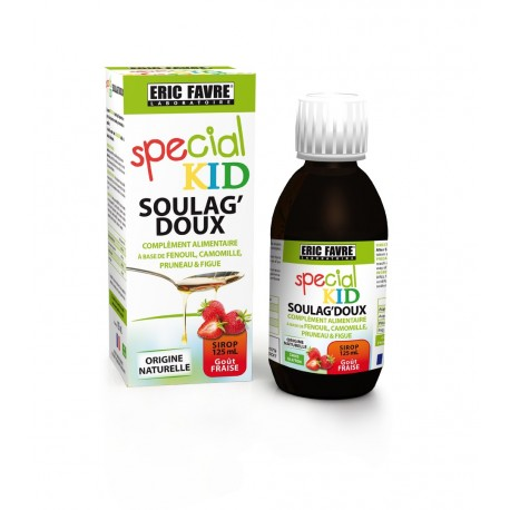 SIROP SOULAG DOUX SPECIAL KID D'ERIC FAVRE - 125 ML