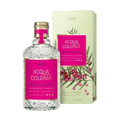 Eau de cologne 4711 AQUA PINK PEPPER & GRAPEFRUIT  - 170 ml