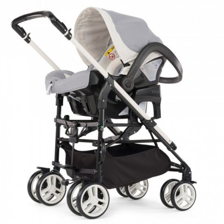 POUSSETTE TRIO MY CITY CHICCO GREY