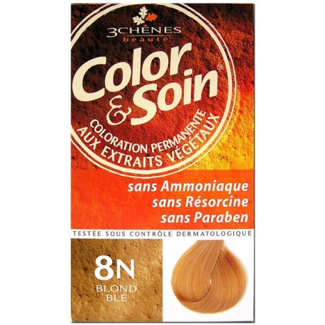 Color & Soin Coloration Blond Blé 8N