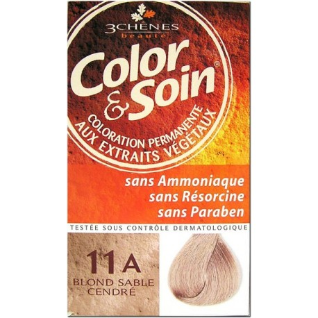 Color & Soin Coloration Blond Sable Cendré 11A