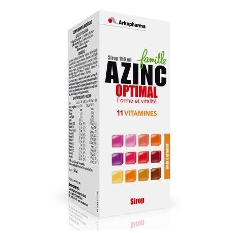 Azinc Optimal - Famille, Sirop 150ml