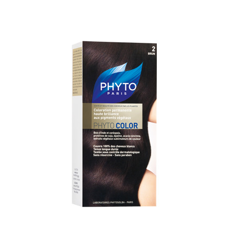 Phytocolor, Couleur Soin 2 Brun - 1 kit