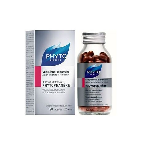 Phytophanère Cheveux et Ongles, 120 capsules