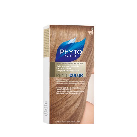 Phytocolor, Couleur Soin 8 Blond clair - 1 kit