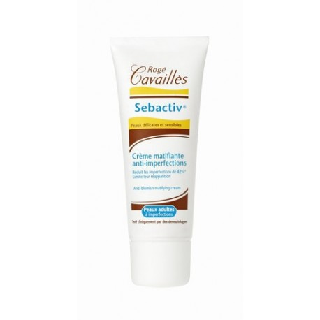 Sebactiv Crème matifiante anti imperfections, 40ml