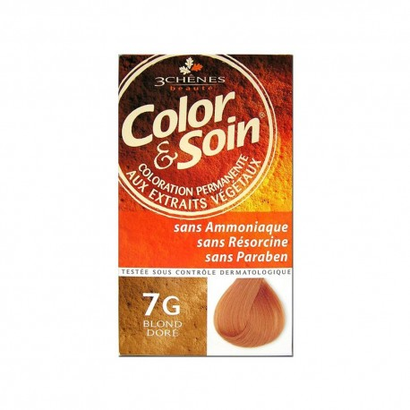 COLORATION BLOND DORE 7G