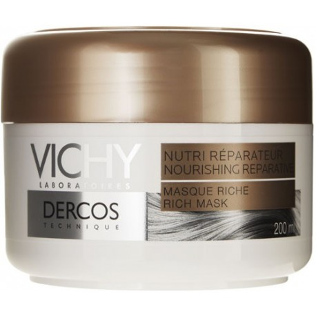 DERCOS NUTRI-REPARATEUR Masque Riche, 200 ml