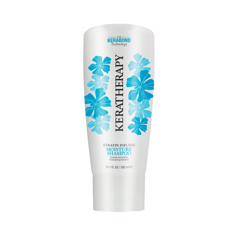 Shampoing hydratant - 300ml - Keratin Infused - Tous cheveux