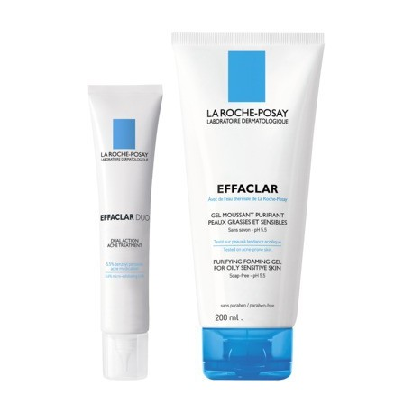 Pack Effaclar Soin Anti-Imperfections: DUO + Gel Moussant