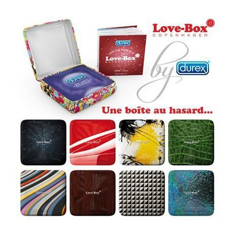DUREX LOVE BOX PLEASURE MAX BT3