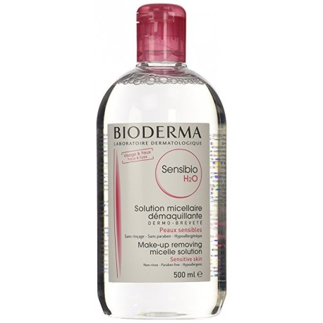 BIODERMA SENSIBIO  H2O SOLUTION MICELLAIRE 500ML