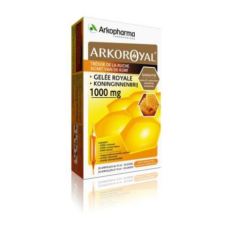 ARKO GELEE ROYALE 1000MG BT/20AMP