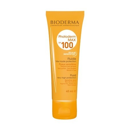 Fluide solaire SPF 100 PHOTODERM MAX Bioderma  - 40 ml