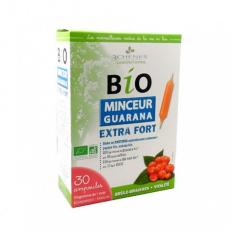 BIO MINCEUR GUARANA EXTRA FORT - 30 AMPOULES