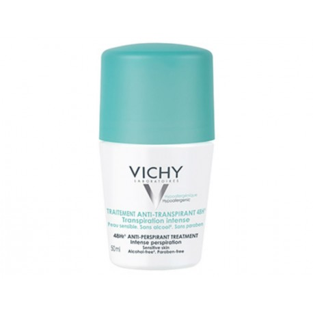 traitement anti-transpirant 48 h transpiration intense - VICHY